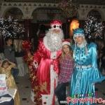 дядо Коледа и Снежанка на детско парти