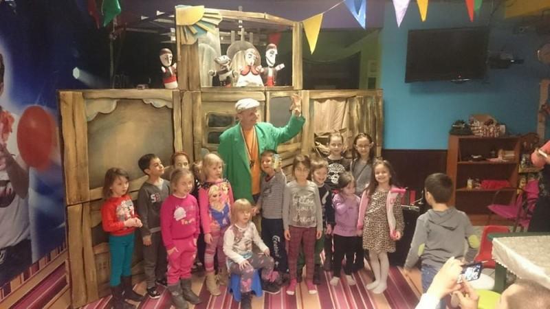 куклен театър в детски център ПартиМиро - Пловдив